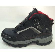 Новый дизайн, High-Top Steel Toe Fashion Work & Safety Boots, Автоматическая пряжка
