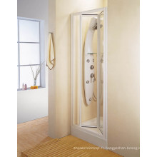 Porte de douche bi-fold