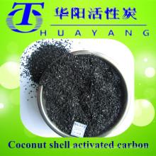 Kokosnussschalen Aktivkohle / Granulat Aktivkohlefilter zur Entfärbung