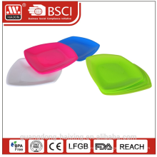 Bunte Runde Kunststoff Teller