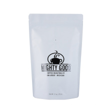 100% PLA Corn Starch Bio Ziplock Zipper Stand up Pouches Snack Coffee Bean Pet Snack Packaging Doypack Biodegradable Bag