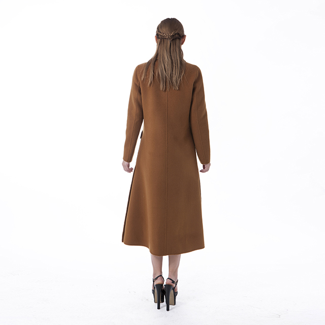 Chocolate Cashmere Overcoat