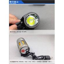 Luz llevada de la bici 1000LM recargable 1x Cree xml t6 que destella la luz llevada para la bici