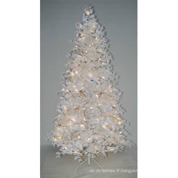 Arbre de Noël artificiel réaliste avec une lumière à cordes Décoration à LED multi couleurs (AT2024)