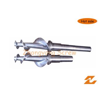 Одновинтовая конструкция цилиндра для резиновой машины