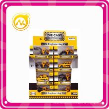 1: 64 Free Wheel Mini Engineering Die Cast Toy Car