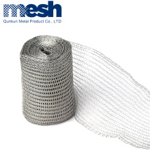 300mm lay flat soft metal copper mesh woven knitted wiire cloth