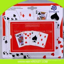 Des cartes de jeu en plastique 100% de haute qualité à prix abordable