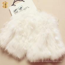 Beste Qualitätsneue angekommene Art-Feder-Pelz-Damen-Mantel für Frauen