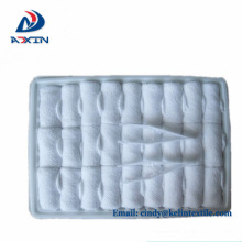 Promotion wholesale 100%Cotton White Luxury airline towel with custom logo Airline refreshing hot towels 100% cotton disposable lemon scented for airplane aviation use