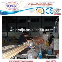 Paneles de suelo de WPC gazebo máquina línea