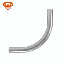 90 degree steel EMT elbow for electrical conduit fittings