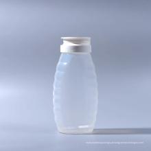 500g garrafa de plástico de mel com tampa de válvula de silicone (EF-H120500)