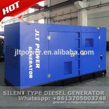 Генератор 50kva молчком тепловозный генератор мощности комплект