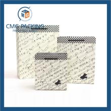 Matt Surface Music Note Printing Paper Gift Bag (DM-GPBB-014)