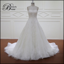 Rich Lace Wholesale Top Quality Hot Sale Bridal Dress