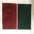 Needle Punch Double Color Jacquard Teppich für Ausstellung Teppich
