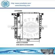 Radiator For Ford Ranger 01-04 OEM:1F8015200/1L5H8005GA/HA/1L5Z8005GA/HA
