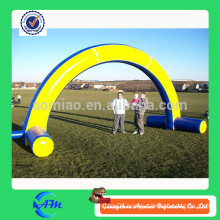 inflatables blue and yellow door, inflatable advertising door, inflatables arch