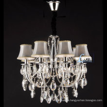 China Wrought Iron Crystal Candle Chandelier Lighting