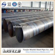 api 5l X42X52X60X70 ssaw steel tube