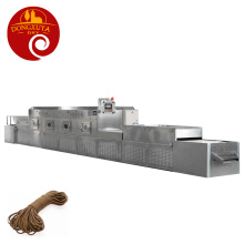 Cords Microwave Dryer Rope Stretching Drying Equipment