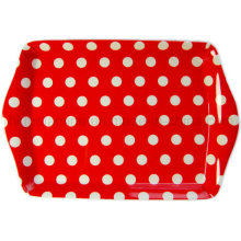 15inch Melamine Serving Tray with Handle