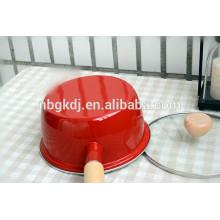 Enamel coating Carbon Steel Cookware pot