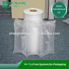 almofada de ar da película de impressão do logotipo de produtos envionmental
