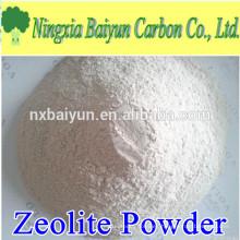 Polvo de zeolita blanca de malla 200 para filtración de agua
