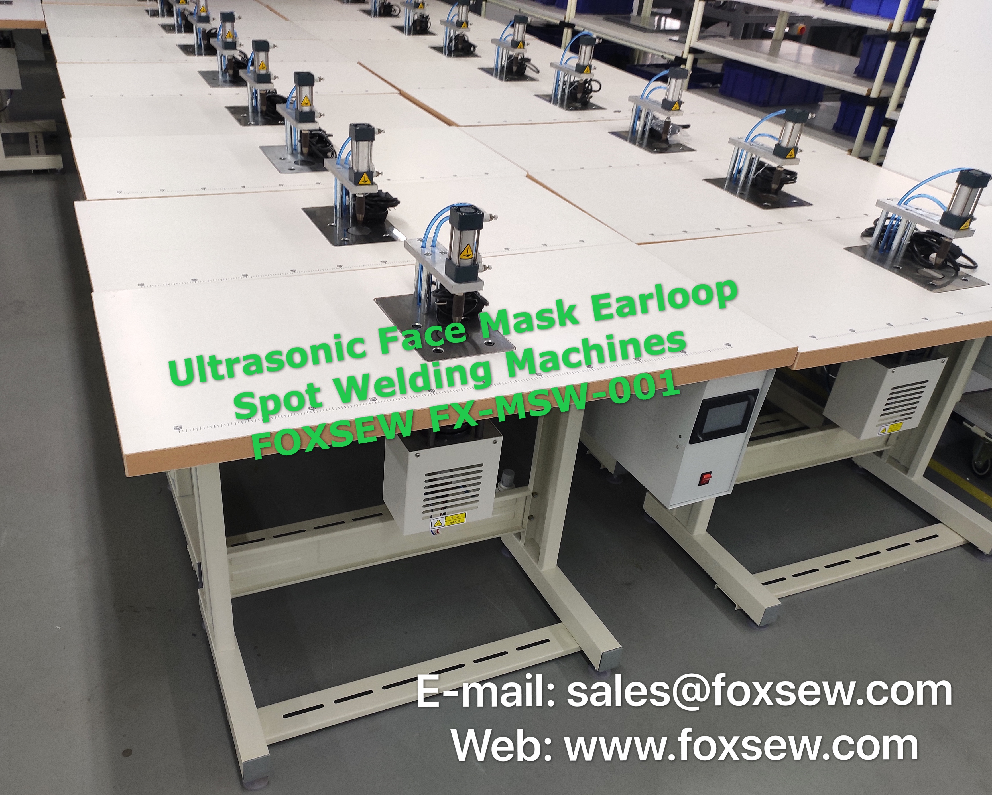 Ultrasonic Face Mask Earloop Spot Welding Machines FOXSEW FX-MSW-001 (3)