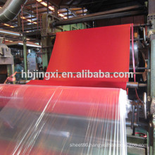 Red Natural Rubber Mat