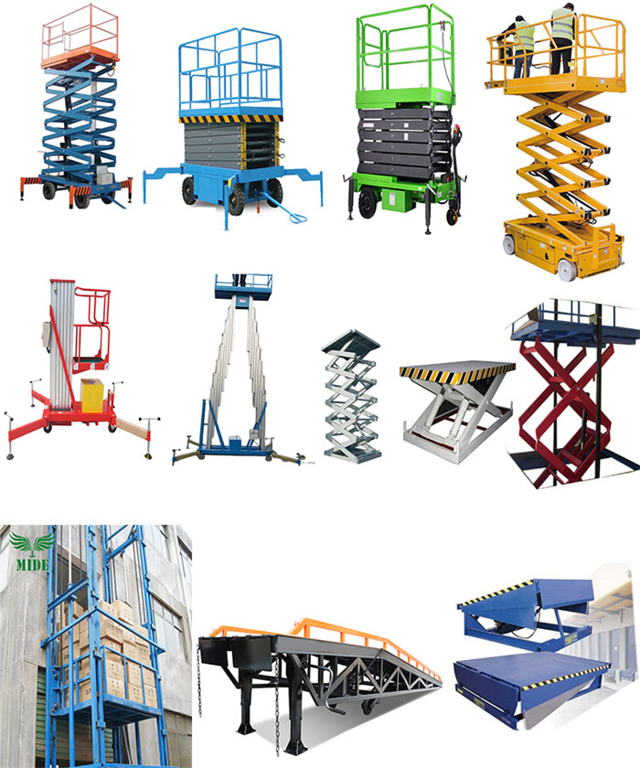 manual mobile scissor lift