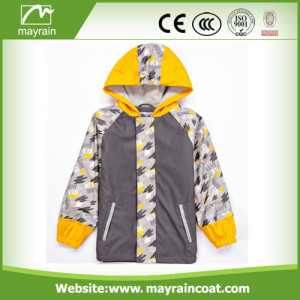 Beautiful PU Kids Rain Coat and Poncho