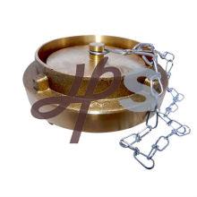 Алюминиевые или поворотный латунь пожарный шланг крышка с цепочкой фабрика