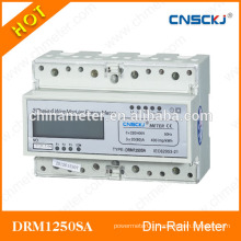 DRM1250SA din-rail types of energy meters with best price