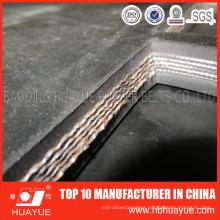 Black Fabric Heavy Duty Rubber Conveyor Belt (SGS, ISO9001: 2008)