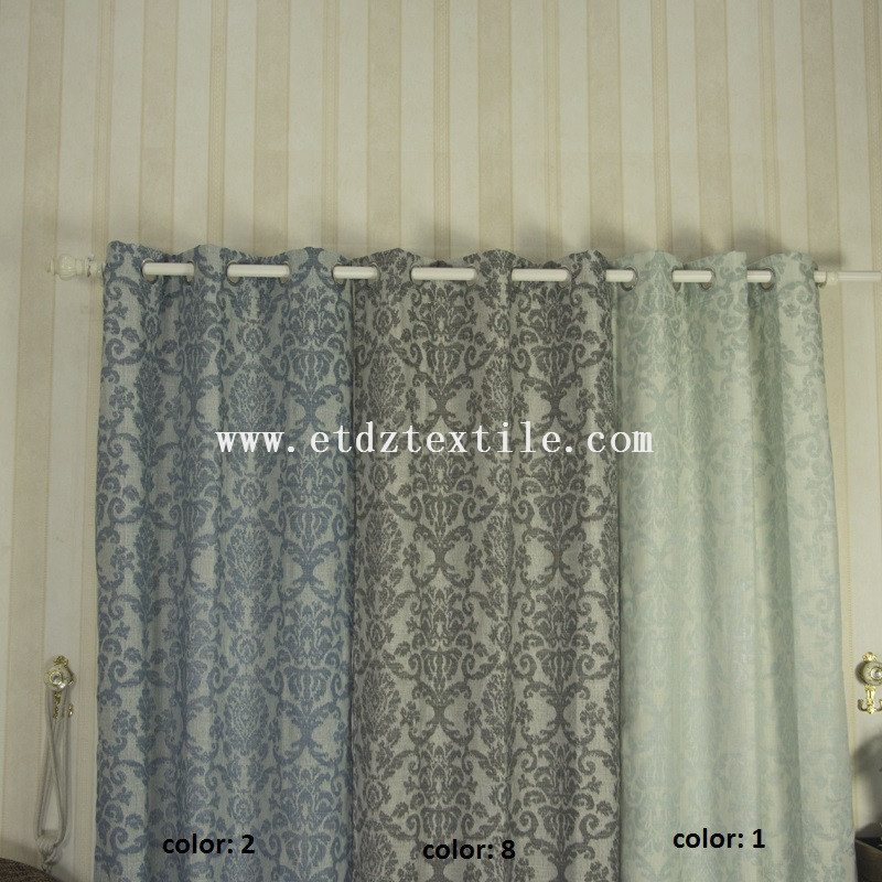 stylish polyester curtain 6003-2