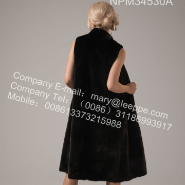 Lady Winter Reversible Kopenhagen Mink Vest