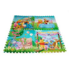 Cartoon Figures Mosaic EVA Mat 4PCS Toys