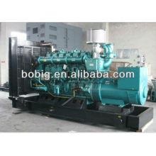 Tipo silencioso / generador diesel DCEC / CCEC de tipo abierto con garantía global
