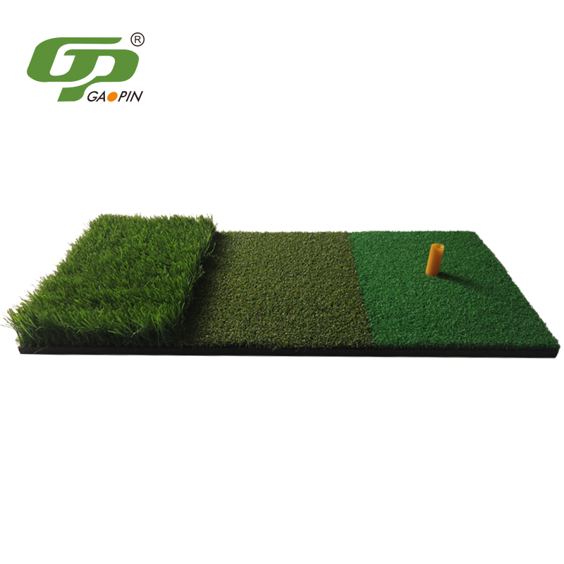 Thickness of Golf Mat Used
