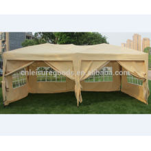 3X6M iron folding outdoor gazebo