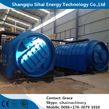 High Tech Waste Tire Processing To Fuel Oil