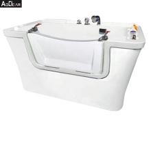 Aokeliya hot sale high quality acrylic large dog wash bath tub