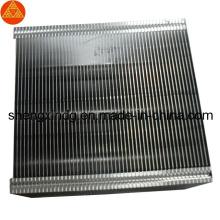 Carimbando o dissipador de calor Sx269 do radiador de Shell do copo da aleta do diodo emissor de luz