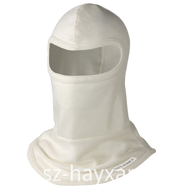 Burning Fire Retardant Hood