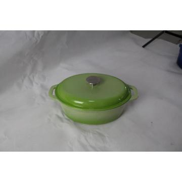 Hausmannskost Gusseisen Emaille Topf zum Kochen