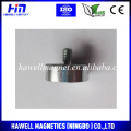 Magnetic neodymium pots with thread