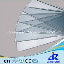 Folha rígida de PVC transparente para termoformagem
